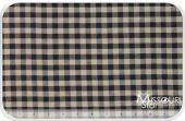 Homespun- Black Tea Dyed Small Checker Yardage