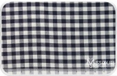 Homespun  Small Checker Navy/ Cream Yardage For Dunroven House