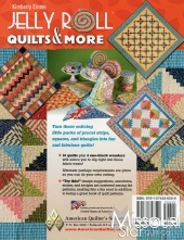 Jelly Roll Quilts & More Pattern Book — Missouri Star Quilt Co. : jelly roll quilt pattern books - Adamdwight.com