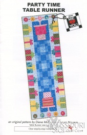 Party Time Table Runner from Me to You Designs