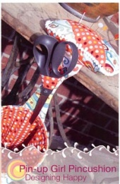 Pin-up Girl Pincushion Fat Sew Pattern