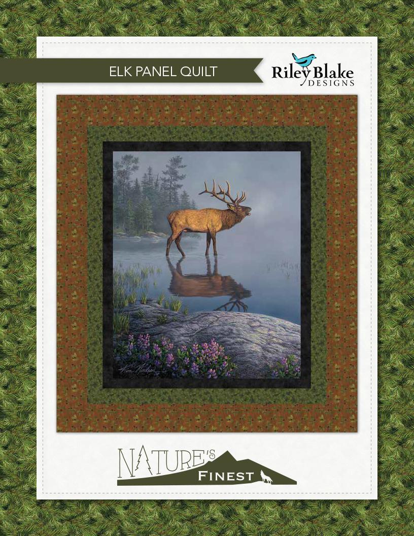 Elk Panel Quilt