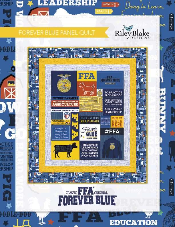 FFA Forever Blue Panel