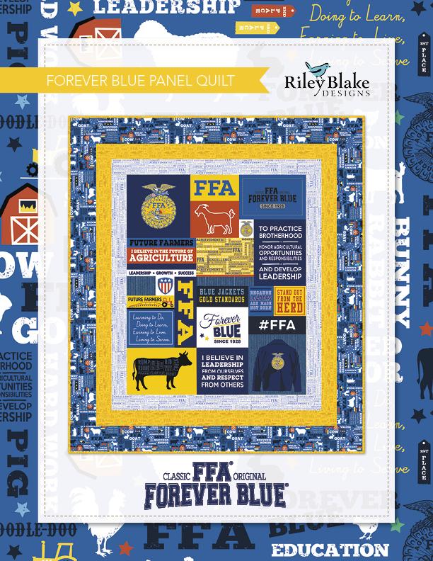 FFA Forever Blue Panel