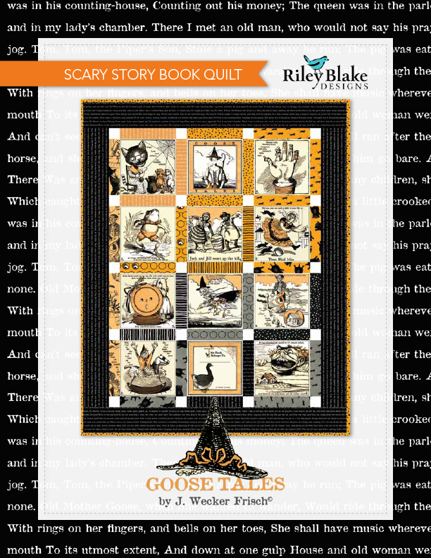 Scary Story Book Quilt