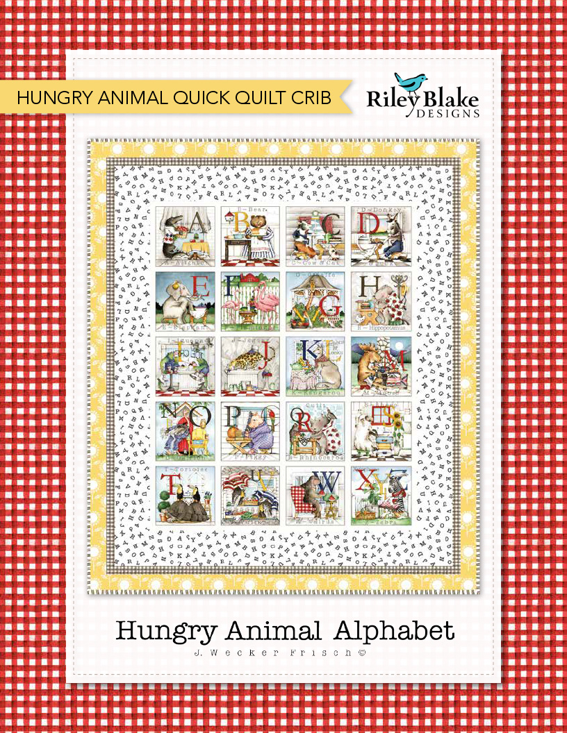 Hungry Animal Quick Crib Quilt