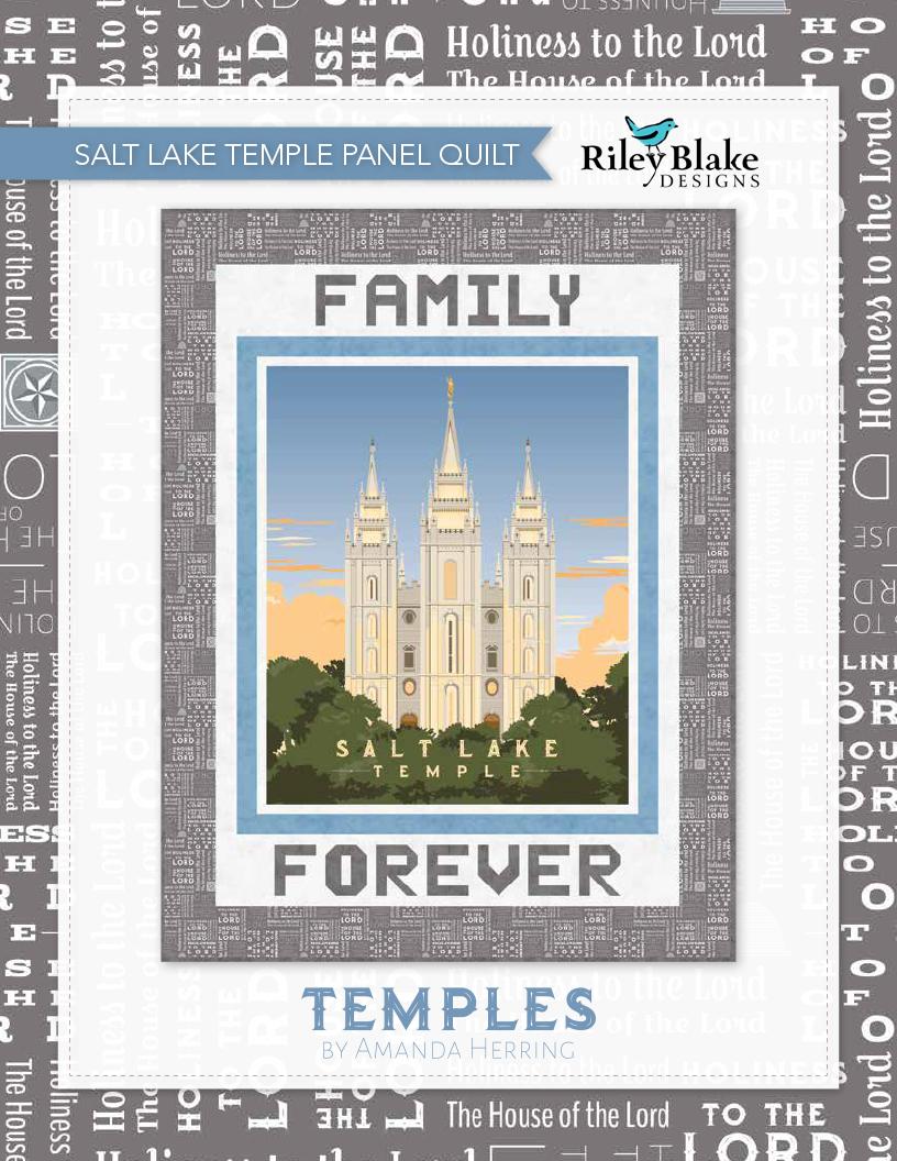 Salt Lake Temple Quilt
