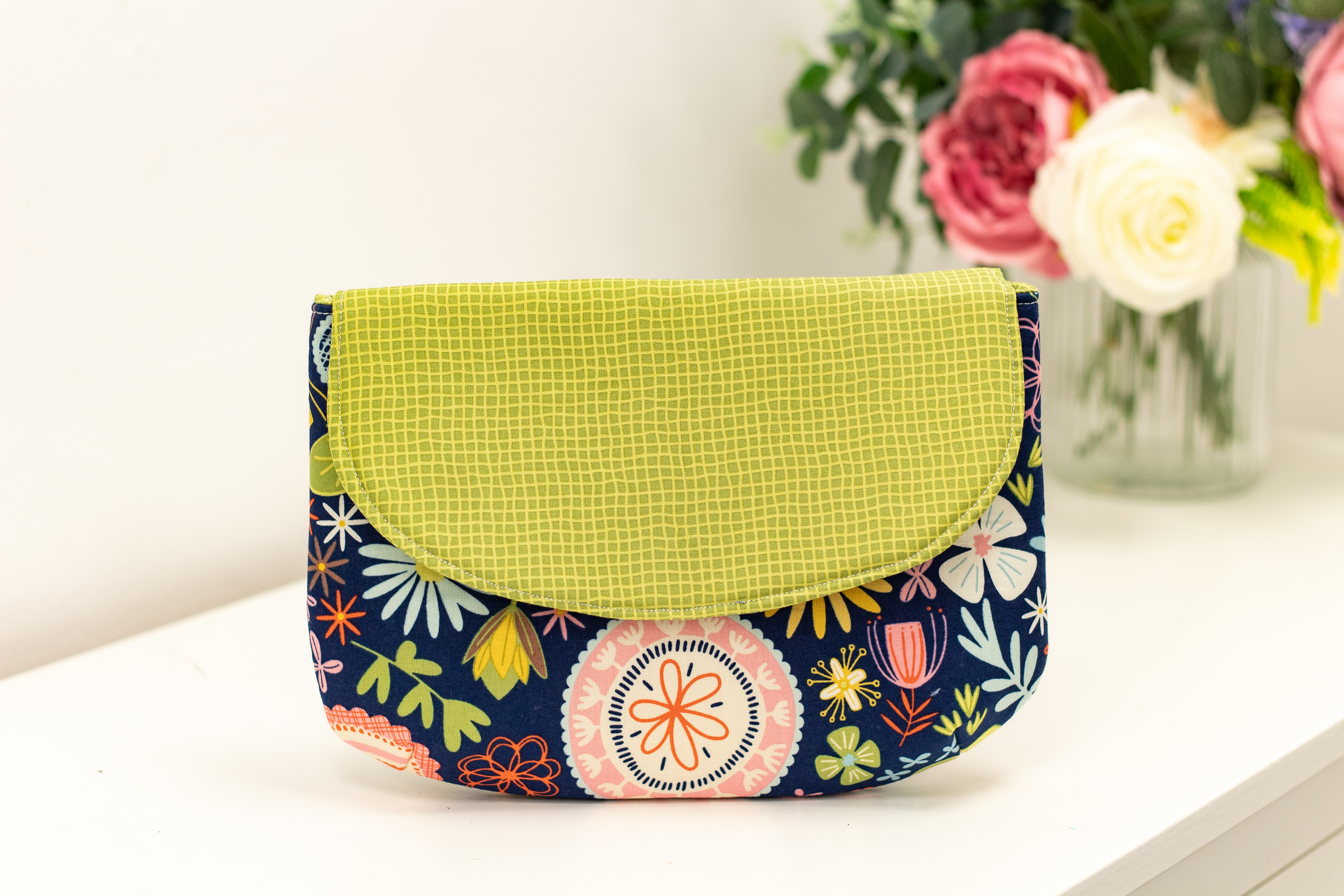 Rounded Clutch Bag