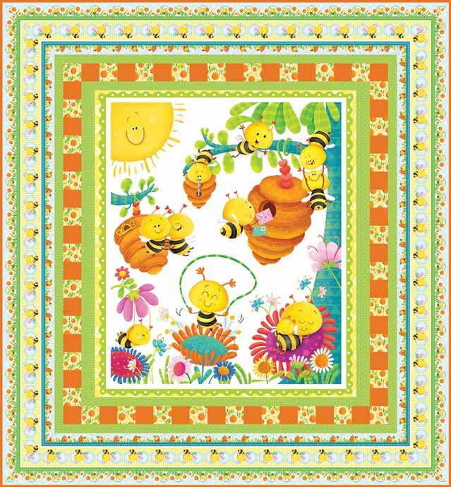 Busy Bees Quilt 1