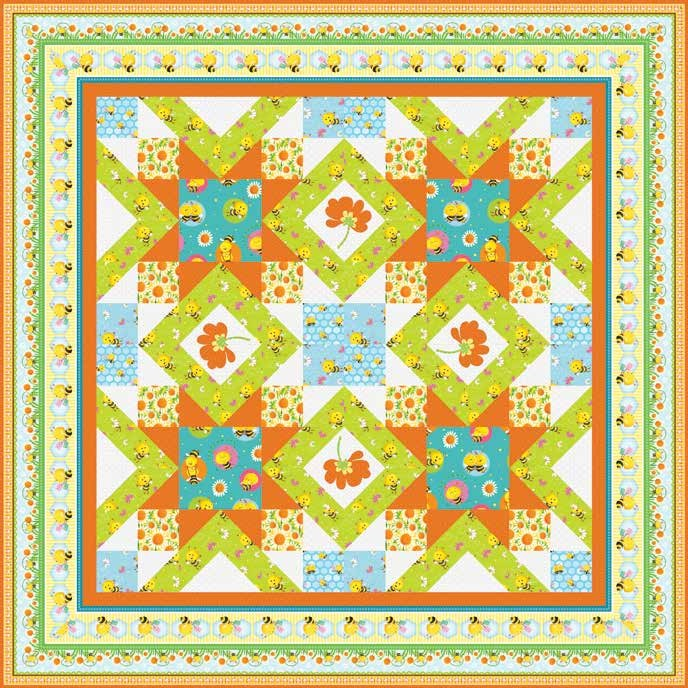 Busy Bees Quilt 2