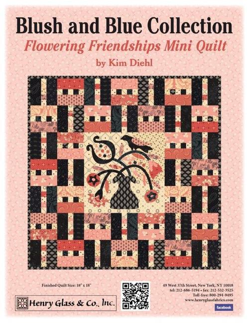 Flowering Friendships Mini Quilt