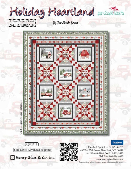 Holiday Heartland Quilt 1