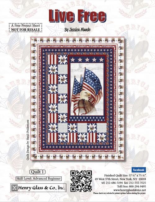Live Free Quilt 1