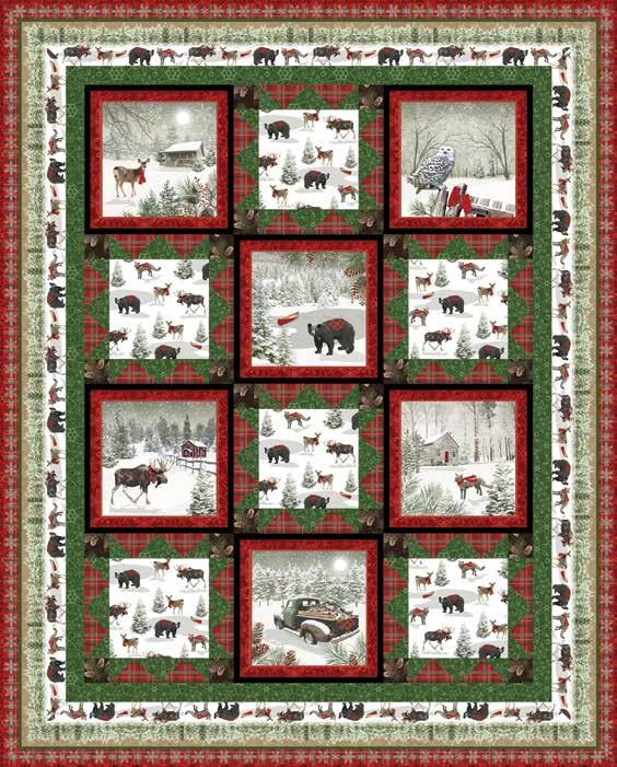 Free Pattern - Rustic Charm Quilt 2