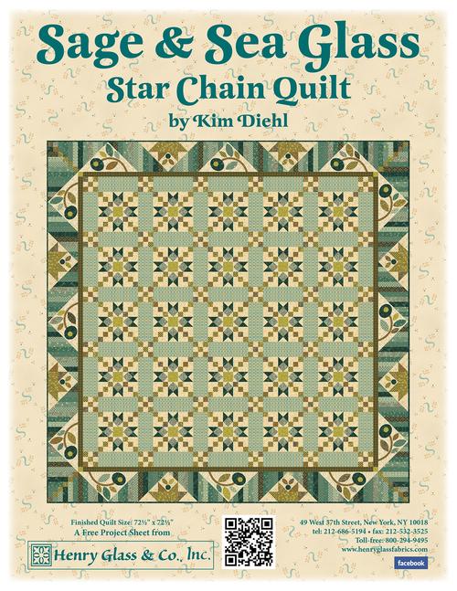 Star Chain Quilt