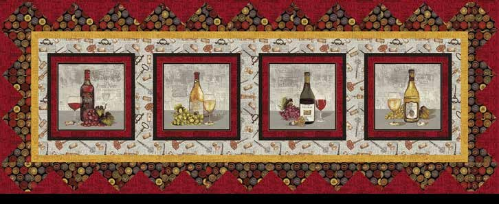 Wine Night Table Set