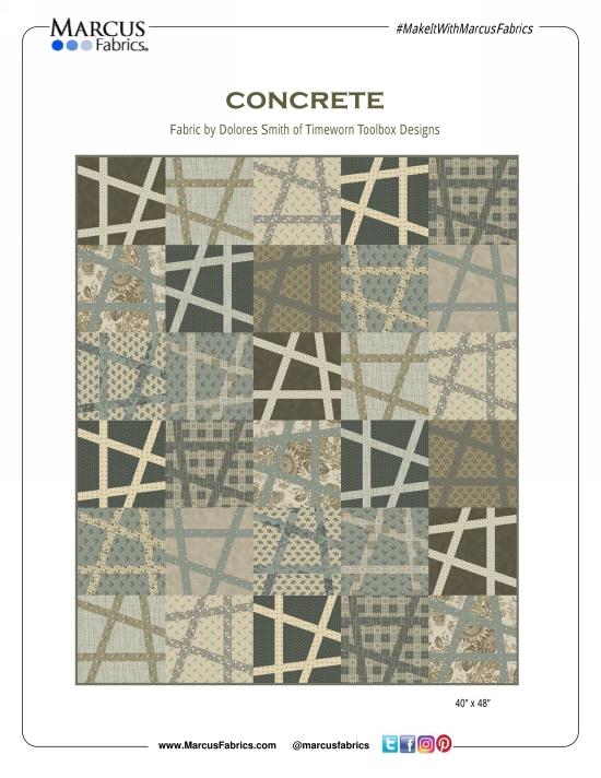 Concrete Quilt Pattern