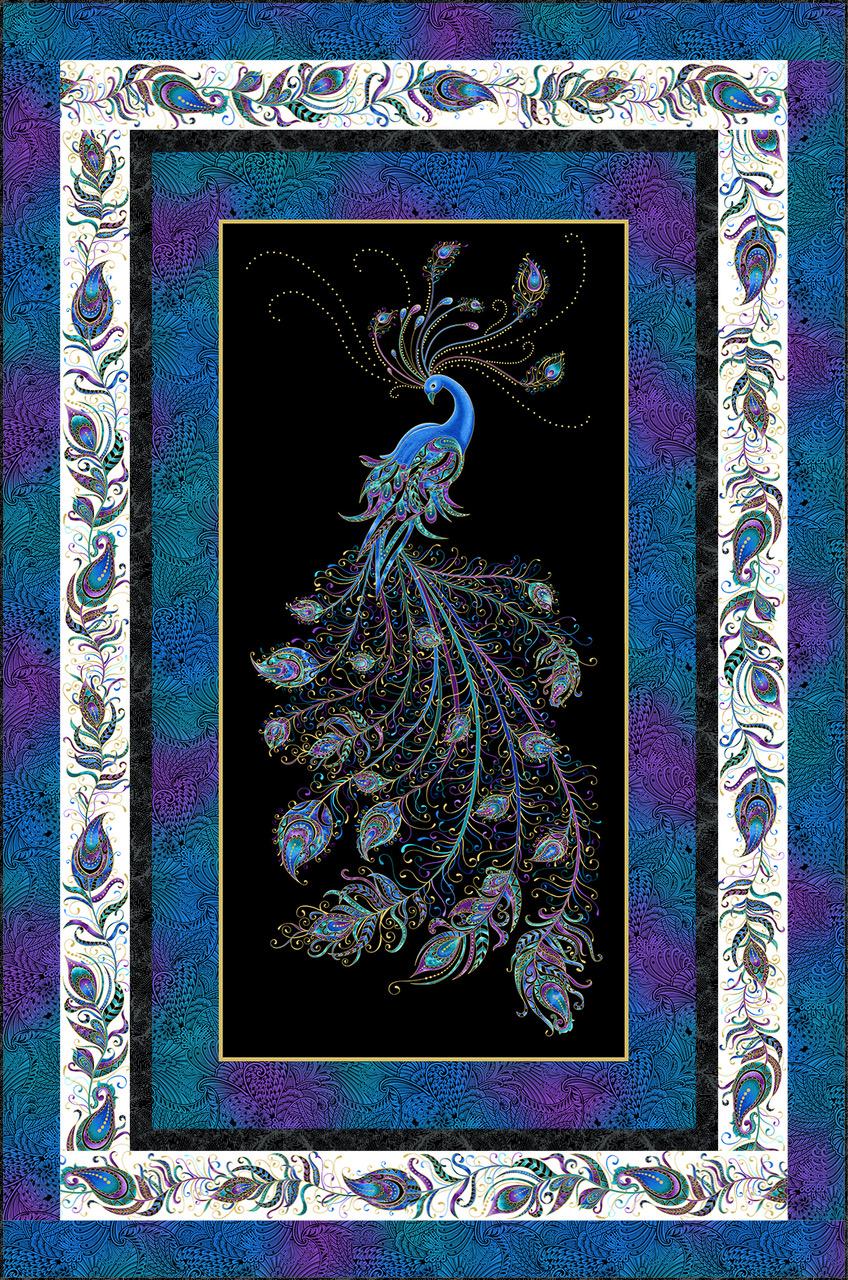 peacock Pizazz - Dark