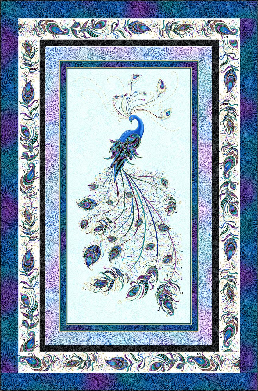 Peacock Pizazz - Light