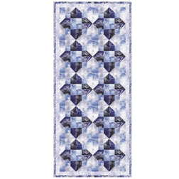 Splendid Snowflakes Table Runner