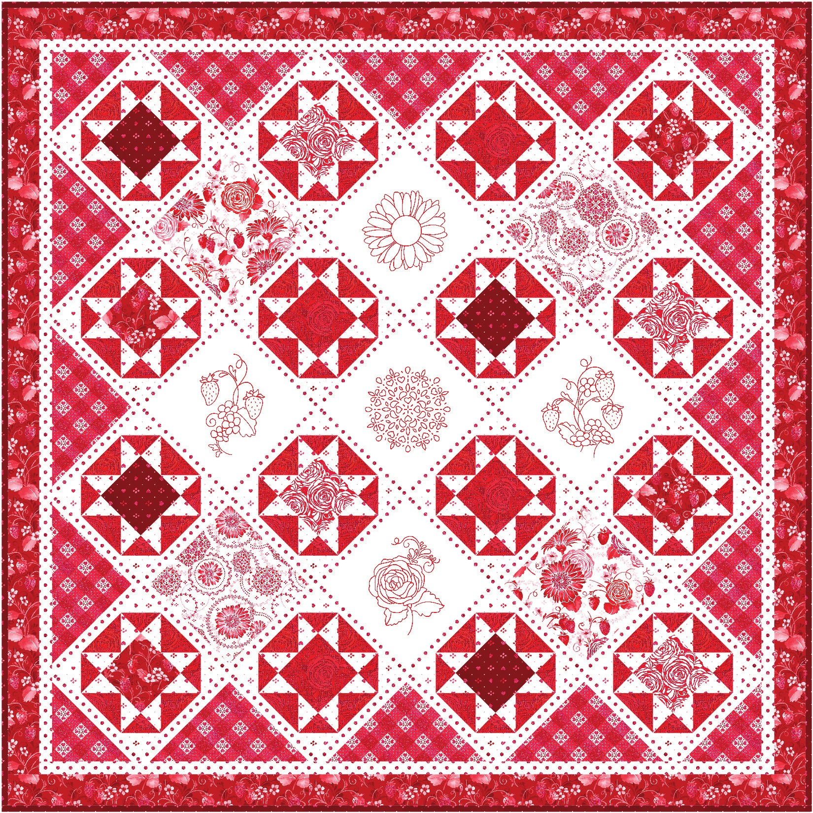 Sugar Crystal Quilt