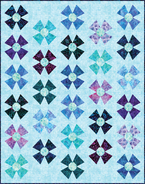 Butterfly Blooms Pattern