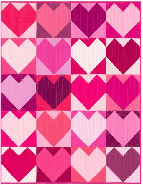 I Heart Pink Pattern