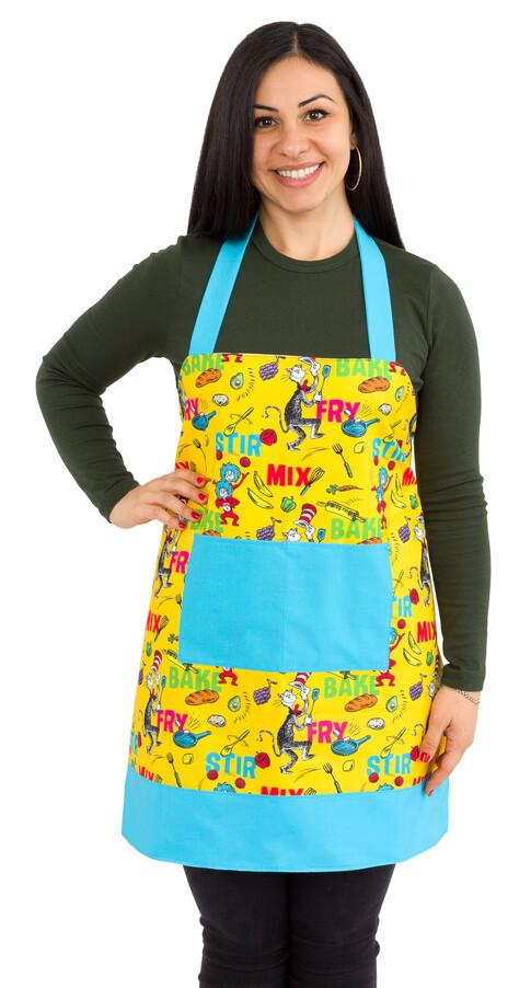 Lined Apron - Seuss Chef