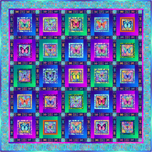Butterfly Paradise Quilt 2