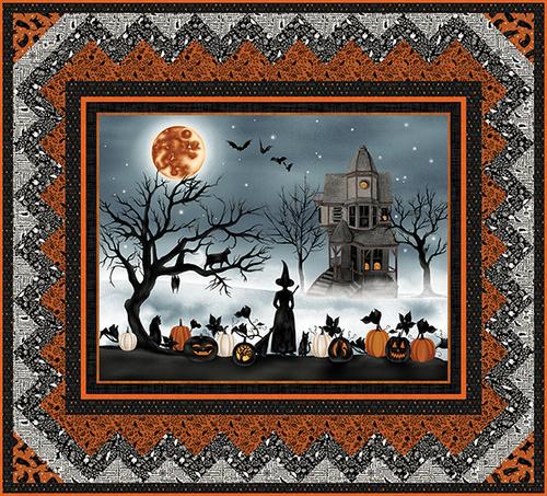 Harvest Moon Quilt 1