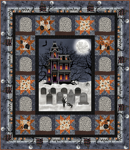 Spooky Night Quilt 1