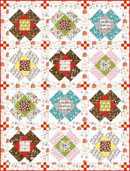 Wildflower Farm Quilt 2