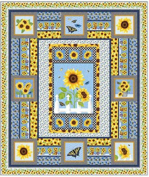 Sunny Sunflowers Quilt 1