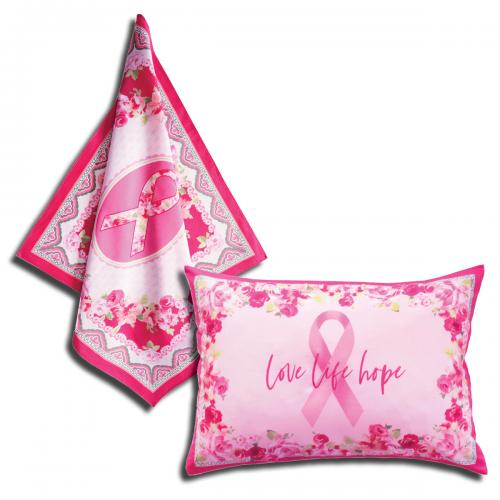 Love Pink Scarf & Pillow