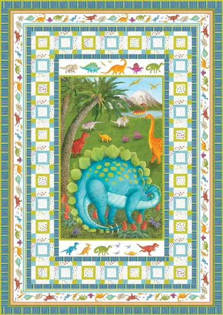 Dino Party Quilt 1