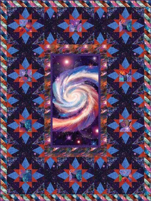 Galaxy Blast Quilt 1