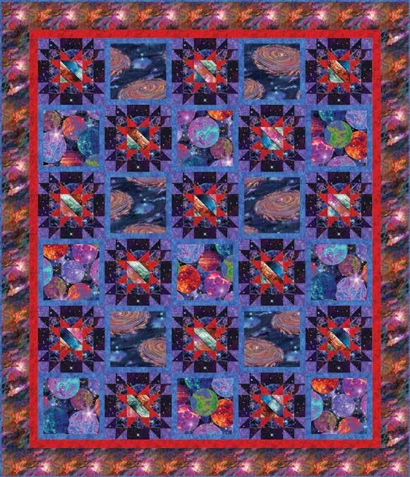 Galaxy Blast Quilt 2