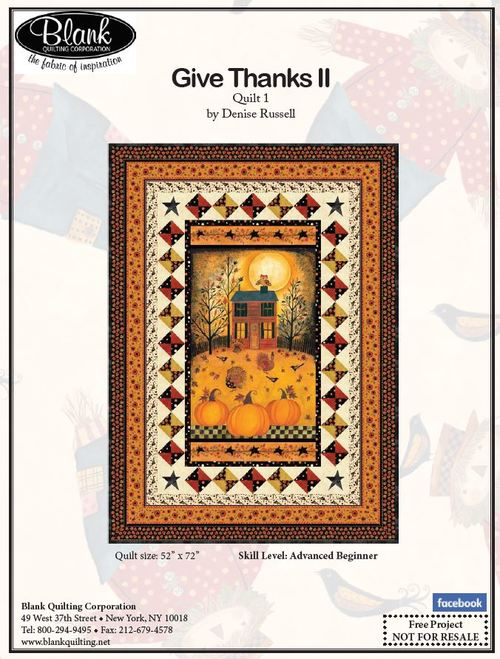 Give Thanks II Quilt