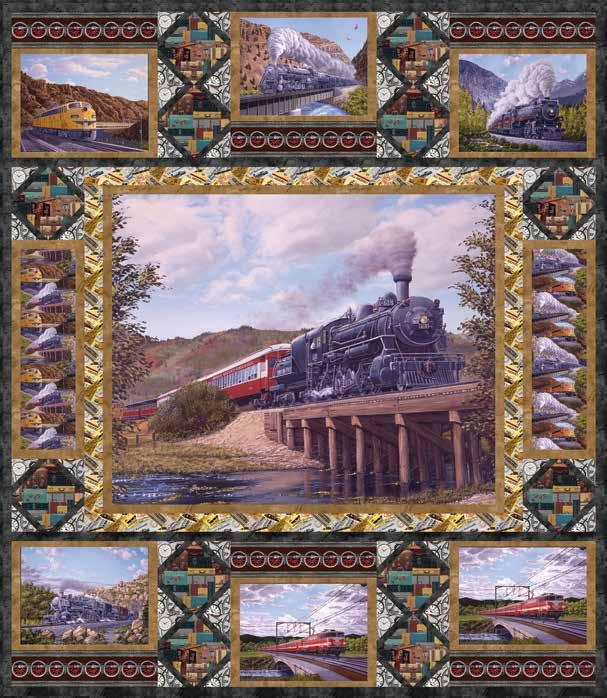 Locomotion Quilt
