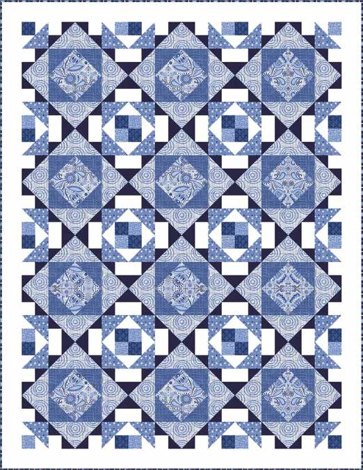 Moody Blues Quilt 1