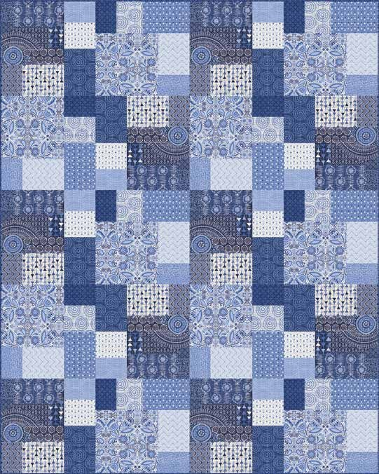 Moody Blues Quilt 2