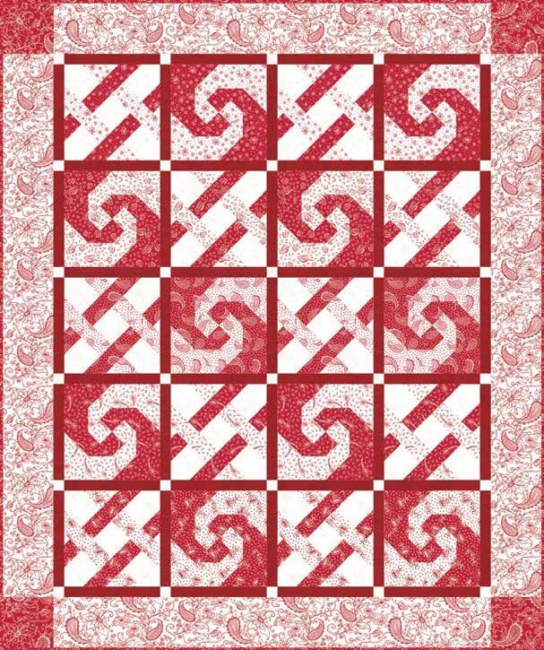Scarlet Romance Quilt 1