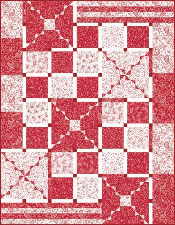 Scarlet Romance Quilt 2