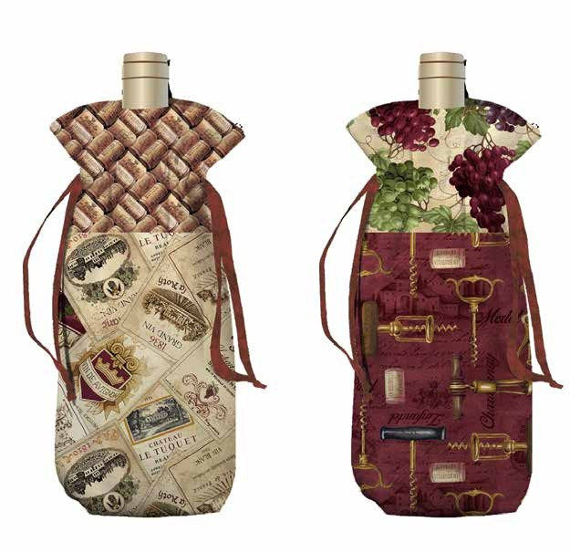 Vineyard Valley Wine Bag