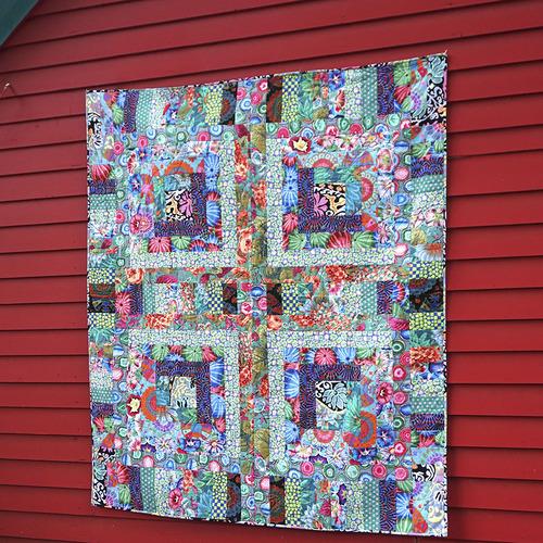 Green Mosaic Quilt
