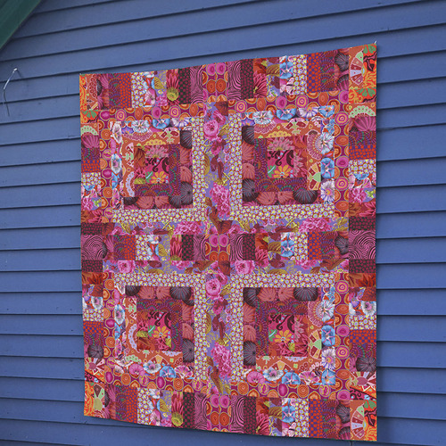 Red Mosaic Quilt