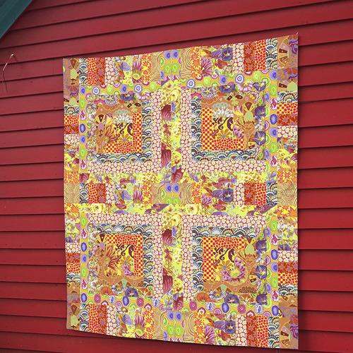 Yellow Mosaic Quilt