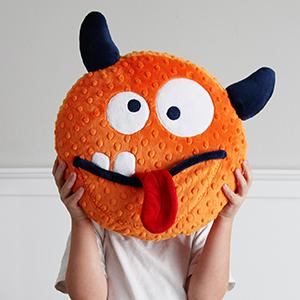 Silly Cuddle Monster Pillow