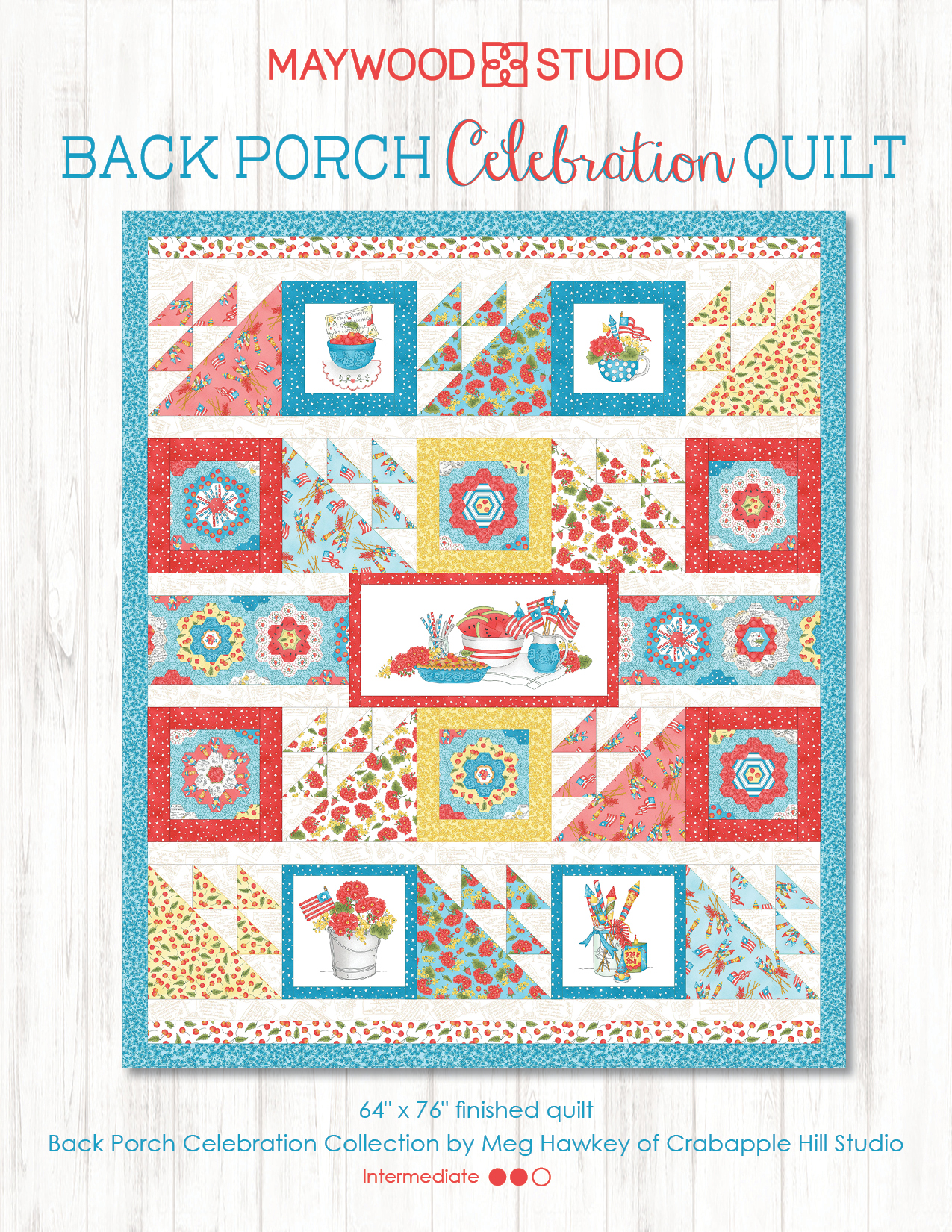 Back Porch Celebration Quilt