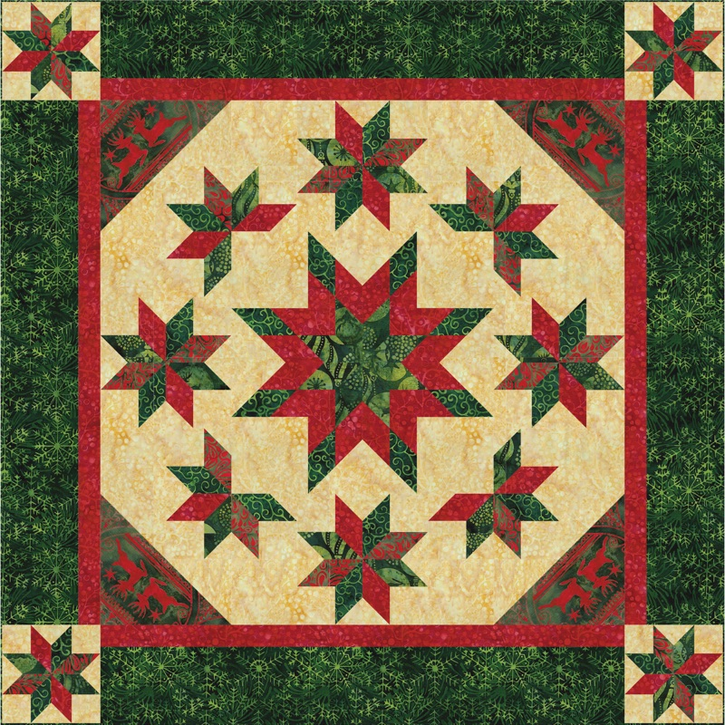 Christmas Everlasting Wall Quilt